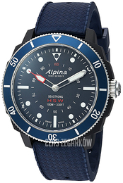 Alpina Horological Smartwatch Niebieski/Guma Ø44 mm AL-282LNN4V6