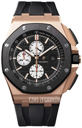 Audemars Piguet Royal Oak Offshore Czarny/Guma Ø44 mm 26401RO.OO.A002CA.01