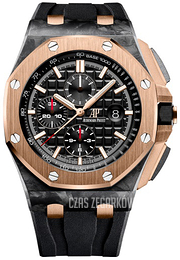 Audemars Piguet Royal Oak Offshore Czarny/Guma Ø44 mm 26406FR.OO.A002CA.01