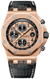 Audemars Piguet Royal Oak Offshore Różowe złoto/Skóra Ø42 mm 26470OR.OO.A002CR.01