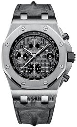Audemars Piguet Royal Oak Offshore Szary/Skóra Ø42 mm 26470ST.OO.A104CR.01