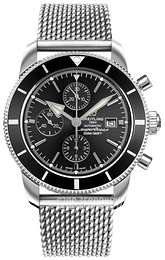 Breitling Superocean Heritage II Chronograph Czarny/Stal Ø46 mm A1331212-BF78-152A