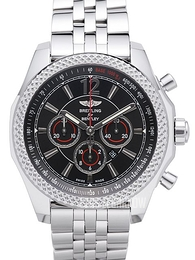 Breitling for Bentley Barnato 42 Czarny/Stal Ø42 mm A4139024-BB82-984A