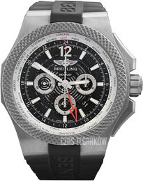 Breitling for Bentley GMT Light Body Czarny/Guma Ø49 mm EB043210-BD23-222S-E20DSA.2