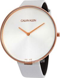 c4525176f4a35 Calvin Klein Full Moon Srebrny Skóra Ø42 mm K8Y236L6