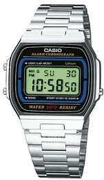 Casio Casio Collection Stal 36.8x35 mm A164WA-1VES
