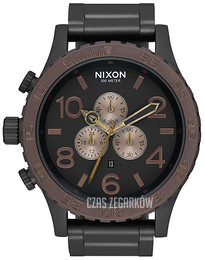 Nixon The 51-30 Czarny/Stal Ø51 mm A0832786-00