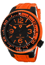 Swiss Legend Neptune Czarny/Guma Ø52 mm SL-21818P-BB-01-OBS