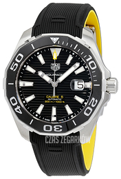 TAG Heuer Aquaracer Czarny/Guma Ø43 mm WAY201A.FT6069