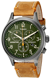 Timex Expedition Zielony/Skóra Ø42 mm TW4B04400