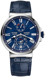 Ulysse Nardin Marine Collection Niebieski/Skóra Ø43 mm 1133-210-E3