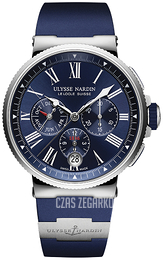 Ulysse Nardin Marine Collection Niebieski/Tytan Ø43 mm 1533-150-3-43