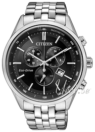 Citizen Sport Czarny/Stal Ø42 mm AT2141-87E